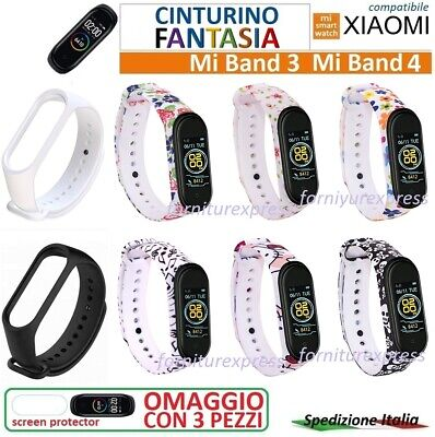 ⭐⭐ ⭐Cinturino Morbido Fantasy Per Xiaomi Mi Band 3 4 Smart Watch ⭐⭐⭐