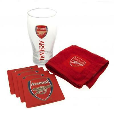 Official ARSENAL FC Bar Set Gunners AFC Christmas Birthday Gift