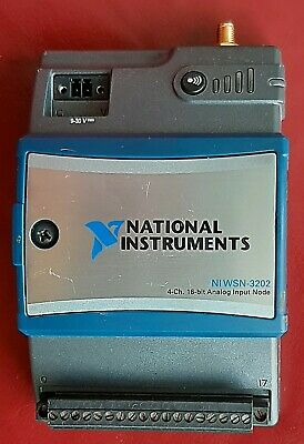 National Instruments WSN-3212 Thermocouple Input Node for WSN