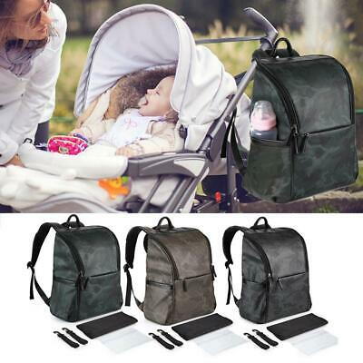 Baby Diaper Nappy Mummy Changing bag Backpack Set Baby Bag Hospital Bag