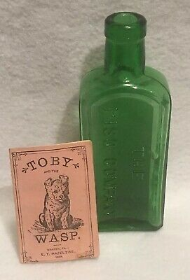 Antique 1883 Toby and the Wasp Booklet Piso's Cure for Consumption Medicine Rare