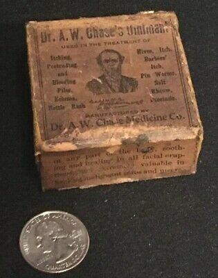 Antique Dr. A. W. Chase's Ointment Quack Medicine Apothecary