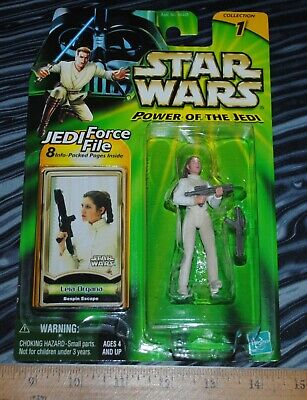 Star Wars Power of the Jedi Leia Organa Bespin Escape sealed action figure