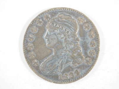 1832 P Capped Bust Lettered Edge Half Dollar Extra Fine (XF) - SKU 297USHD