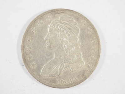 1834 P Capped Bust Half Dollar Small Date, Stars &  Letters Extra Fine (XF)