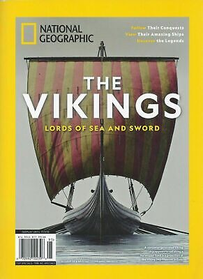 National Geographic Magazine THE VIKINGS Lords Of The Sea And Sword