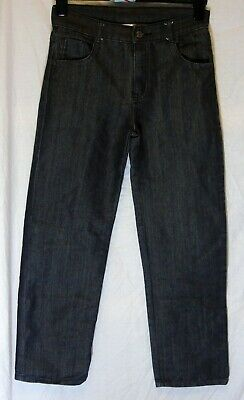 Boys Cherokee Dark Grey Black Denim Relaxed Fit Slouch Jeans Age 12-13 Years
