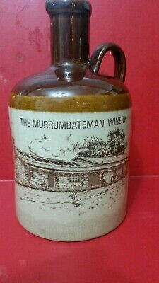 The Murrumbeena Winery Tawny Port Bottle