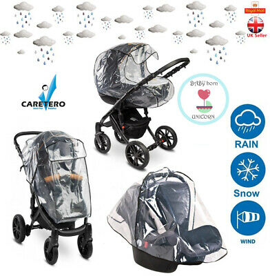 Universal Rain Cover for the Baby Stroller and Baby Car Seat