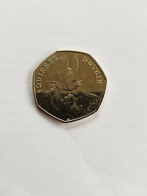 Squirrel nutkin 50 pence