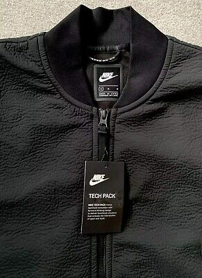 NEW Mens Nike NSW Tech Pack FZ Woven Track Jacket Top Casual Ltd Edition Black