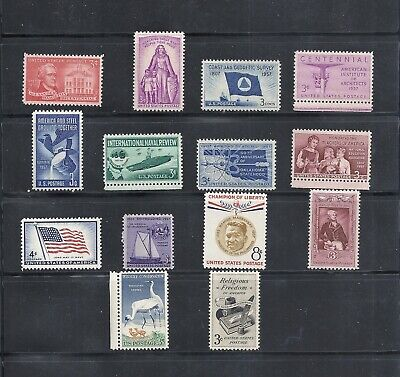 1957 - Commemorative Year Set - US Mint Stamps