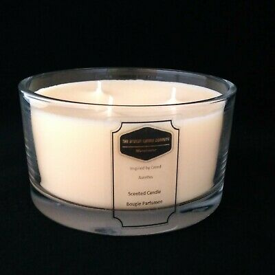 Luxury Designer Inspired, 3 Wick Soy Wax Candle - 60+ Fragrances Available