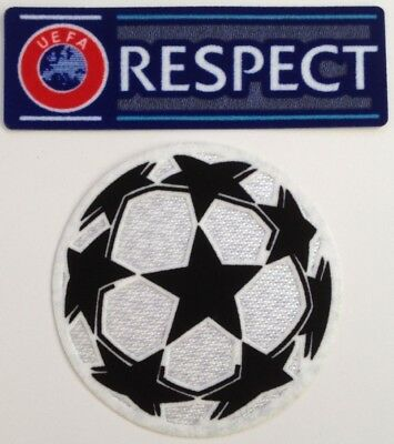 Lot 2 patchs UEFA RESPECT ligue des champions 2019 / 2020 NEUFS