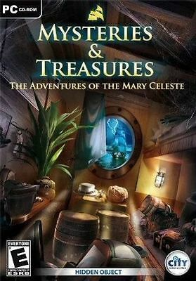 Mysteries & Treasures: Adventures of the Mary Celeste (PC CD) BRAND NEW SEALED