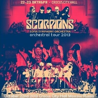 Scorpions / Orchestral Tour 2013 - Live Moscow Russia 2CD ORG NEW!!! 0240