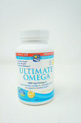Nordic Naturals Ultimate Omega 90 SoftGels Concentrated Omega-3 Fish Oil(H-4)