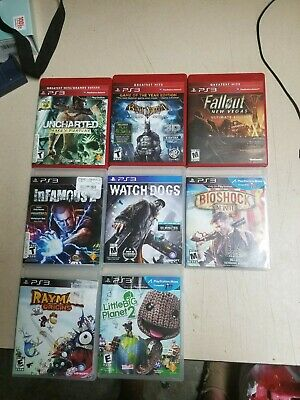 PlayStation 3 PS3 Games Bundle Lot * ADULT-OWNED * GREAT TITLES! * NO JUNK!