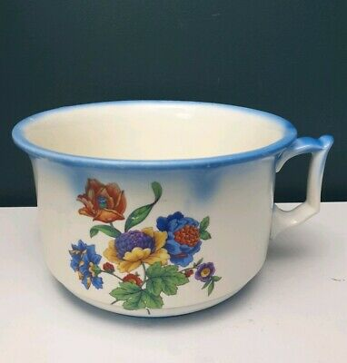 Vintage Newhall Hanley Staffordshire  Evenware Chamber Pot Bed Pan Planter