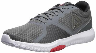 Reebok Mens Flexagon Force Shoes Alloy/White/Red/Pewter/Black