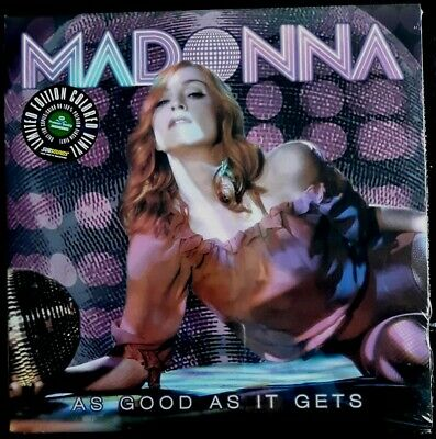 Madonna - As Good As It Gets - Rare Live 3Lp - Green Vinyl - Madame X Mdna