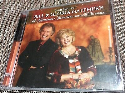 12 Christmas Favorites by Bill & Gloria Gaither: Pre-owned 2012
