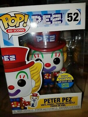 SDCC 2019 Toy TOKYO Funko POP! Peter Pez #52 AD ICONS Exclusive BRAND NEW!!
