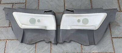 Genuine BMW E36 M3 Convertible Rear Door Cards - Grey Leather