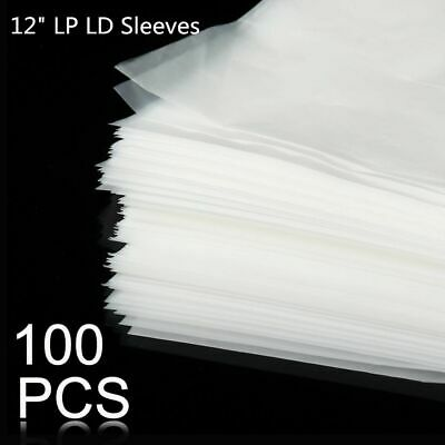 """Plastic Records Bag Vinyl Anti Static 12"""" Outer Inner Sleeves Container Cover"""