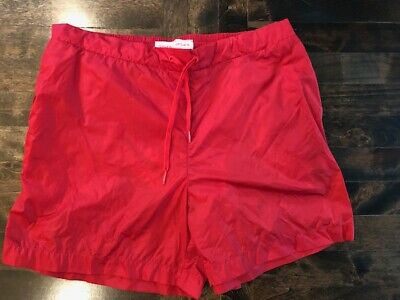 NEW NWT Orlebar Brown Red Mid Length Marshall Swim Shorts Size 28-38 DROP93
