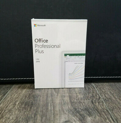 Microsoft Office 2019 Pro Professional Plus Retail - 2 PC