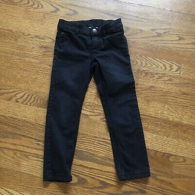 Boys Skinny Fit Black Jeans H&M Size 3-4 Denim Jeans perfect condition