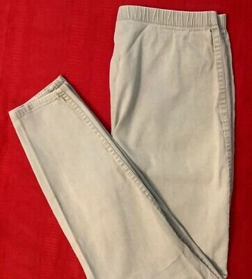 JUST MY SIZE  Stretch ... Pull-On  Beige  Skinny  Pants ... Plus  Size  18 / 20
