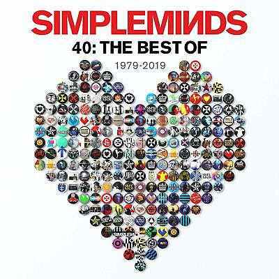 SIMPLE MINDS '40 : THE BEST OF' (1979-2019) CD (1st November 2019)