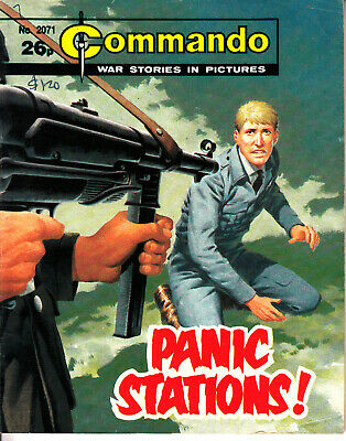 COMMANDO COMIC  War Stories in Pictures #2071 PANIC STATIONS! Action Adventure