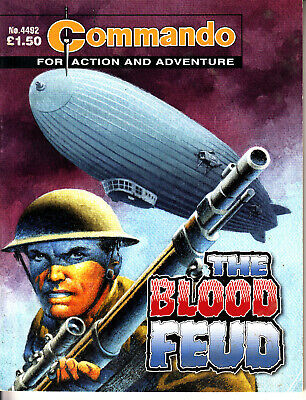 COMMANDO COMIC  War Stories in Pictures #4492 THE BLOOD FEUD Action Adventure