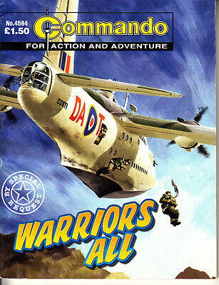 COMMANDO COMIC  War Stories in Pictures #4564 WARRIORS ALL By Special Request