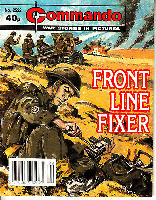 COMMANDO COMIC  War Stories in Pictures #2522 FRONT LINE FIXER Action Adventure