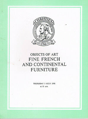 Christie's - Objects of Art, Important French Furniture & Tapestries