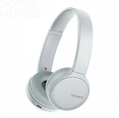 Sony Wh-CH510 Wireless Headphones, 35 Hours Battery Life with Quick white