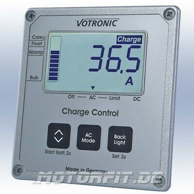 Votronic LCD-Charge Control S-VCC für VCC Lade-Wandler