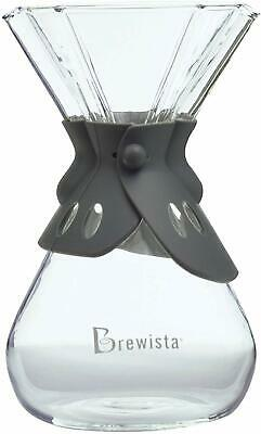 Hourglass coffee Brewer, Brewista Smart Brew™ 8 Cup Clear Hourglass Brewer