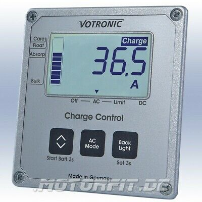 Votronic LCD-Charge Control S für alle Triple-Charger