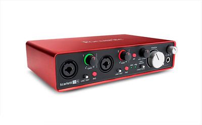 Focusrite Scarlett 2i4 2nd Gen Audio Interface includes Ableton Live Lite