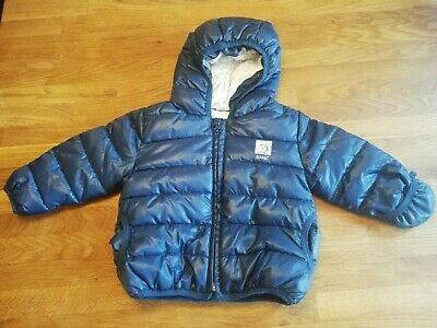 ADIDAS ORIGINALS KINDER Winterjacke Steppjacke mit