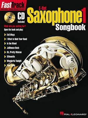 Fast Track: E-Flat Saxophone Songbook Level 1 (2000, CD / Paperback)