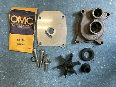NOS OEM Johnson Evinrude OMC BRP SHIFT HANDLE KIT PN 0173986 9.9-15 HP