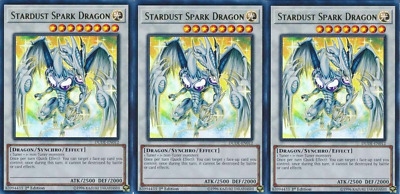 3X Scarlight Red Dragon Archfiend	DUDE-EN013	Ultra Rare	Yugioh	Duel Devastator