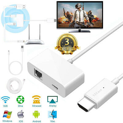 1080P HD WiFi HDMI Anycast Miracast Airplay TV Wireless Display Dongle Adapter