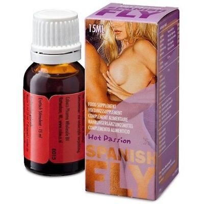 Afrodisiaco Para Estimular El Deseo Sexual Spanish Fly Gotas Hot Passion 15Ml